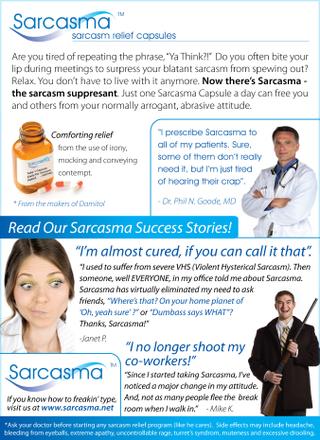 Sarcasmaa