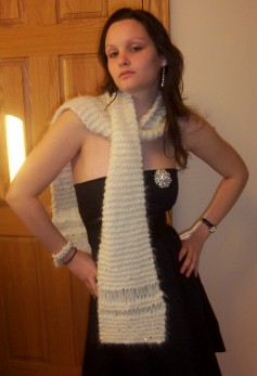 Snow Queen Scarf
