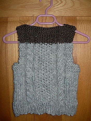 Toddler's Vest For Dulaan