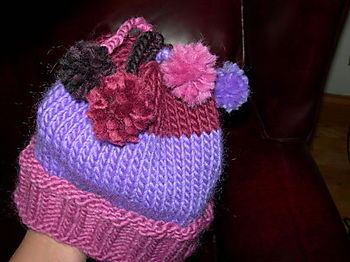 Purple Child's Hat