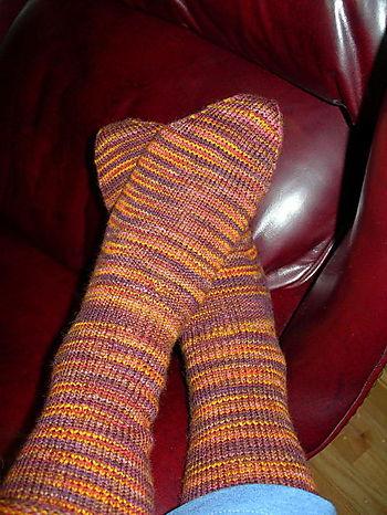 Fleece Artist Socks