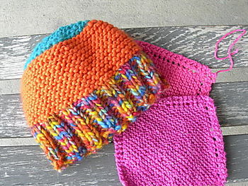 Dulaan Hat and Blanket Squares for Comforting Grace
