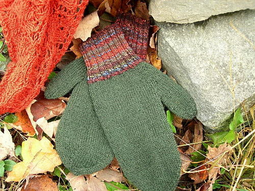 Fingering Weight Liner Mittens