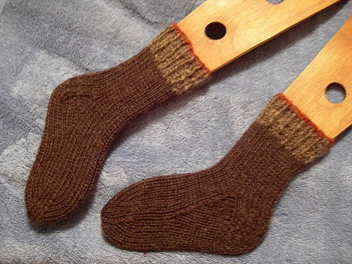 Pair 11 of the Magic 28 Socks for Dulaan