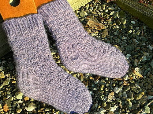 Little Lavender Toddler Socks for Dulaan