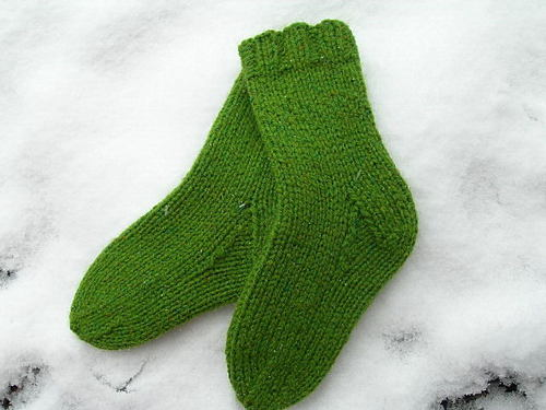 Peace Fleece Toddler Socks for Dulaan