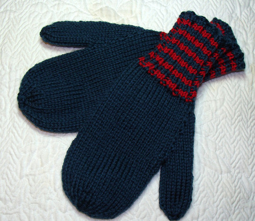 Child's Large Mittens