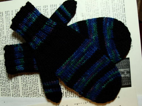 2nd Pair of Mittens for Soaring Eagles Project