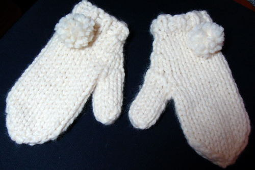 3rd Pair of Mittens for Soaring Eagles Project