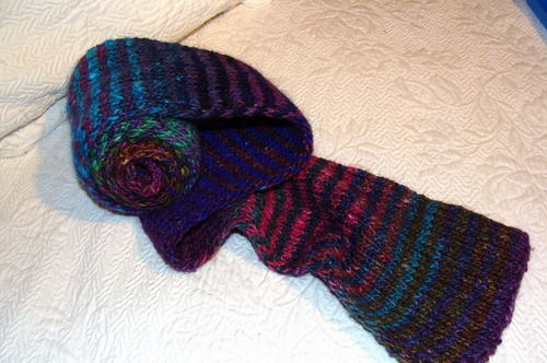 Noro Striped Scarf 2