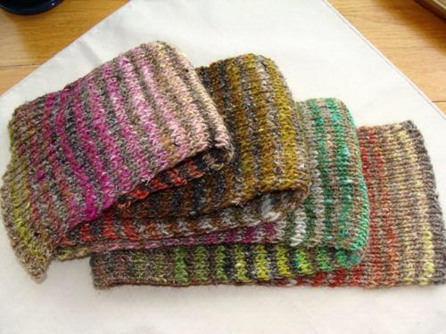 Noro Silk Garden Striped Scarf No. 3