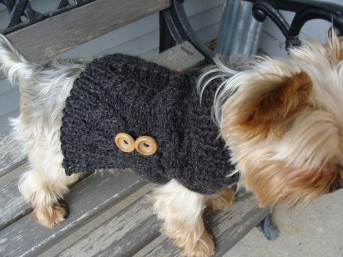 Mr. Jefferies' Alpaca Sweater