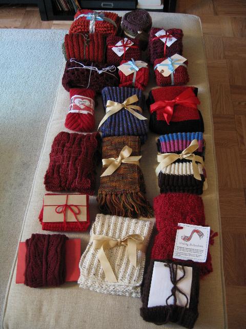 19 Scarves/ Sit 'n Knit New York